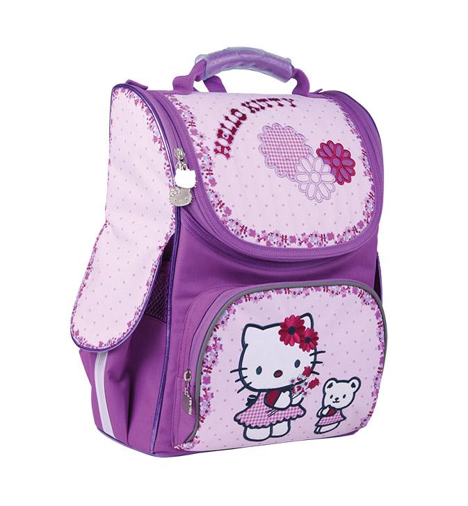 Рюкзак школьный каркасный Kite Hello Kitty HK13-501-2K