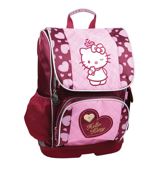 Рюкзак школьный каркасный Kite Hello Kitty HK13-527K