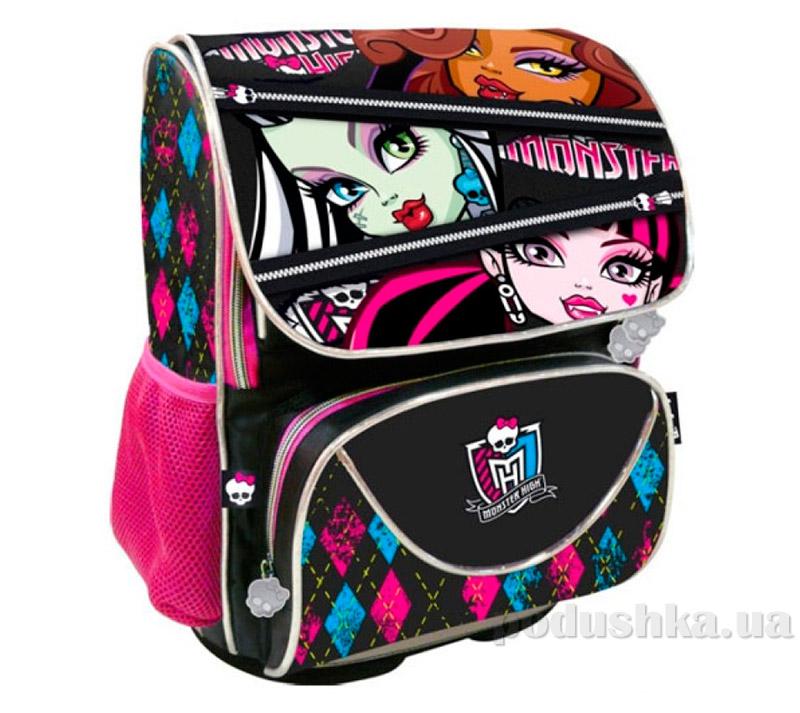 Рюкзак школьный каркасный Monster High Школа монстров MH13-527K