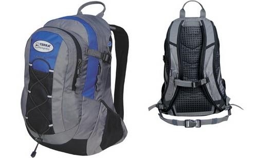 Рюкзак туристический Terra Incognita Cyclone_16 сине-серый