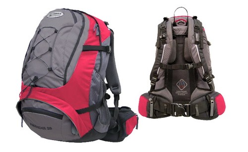 Рюкзак туристический Terra Incognita Freerider_28 красно-серый