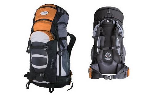Рюкзак туристический Terra Incognita Tour 35 оранжево-серый