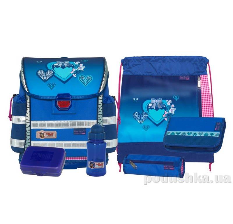 Школьный ранец  Blue Heart  McNeill 6 предметов