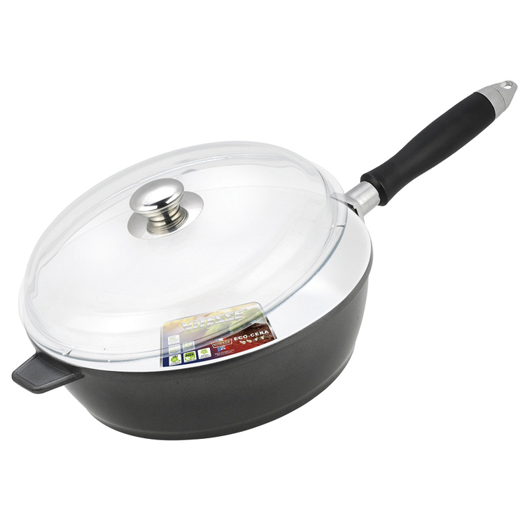 Сковорода алюминиевая с крышкой Vitesse VS-2264