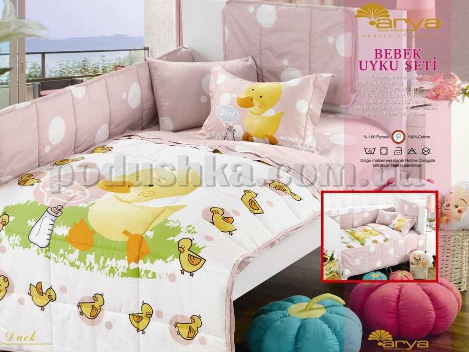 Спальный комплект для детской кроватки Arya Ducky