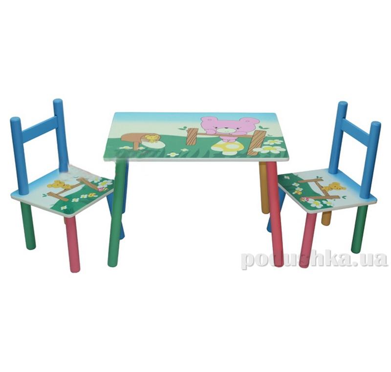 Столик Baby Tilly B07007 (2802-24) Медвежонок 64200