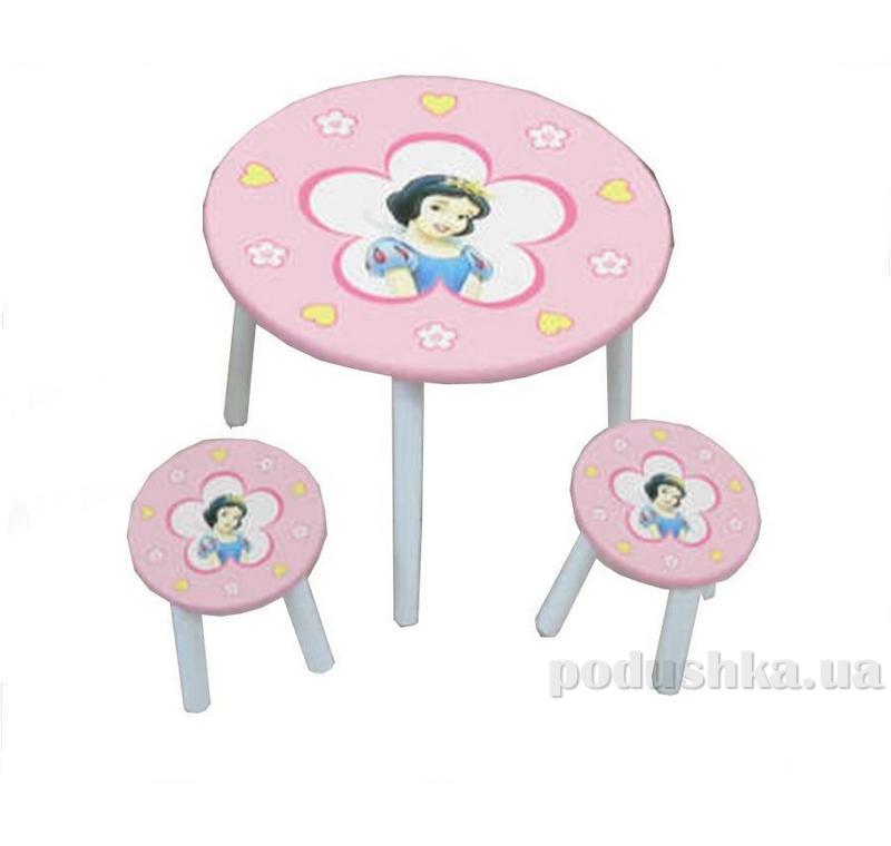 Столик Baby Tilly W02-886 (H915) Белоснежка 51585