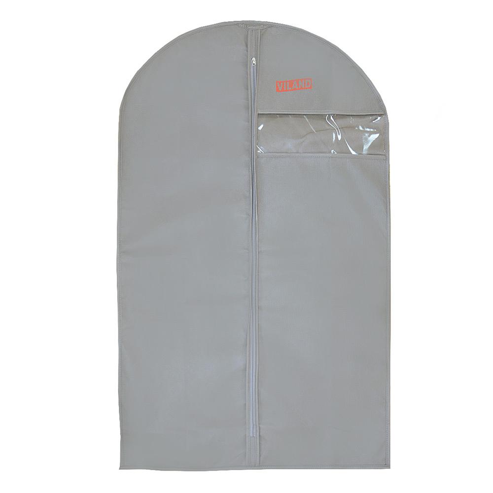 Чехол для одежды серый Viland 100 х 60 VI09735