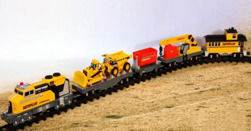 Железная дорога Строительный экспресс CAT Toy State 55651