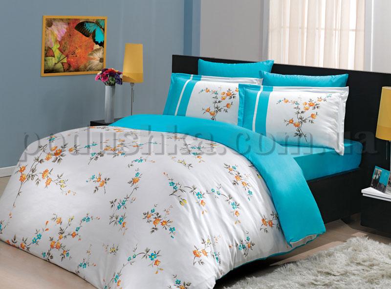 Постельное белье Hobby Christy голубой