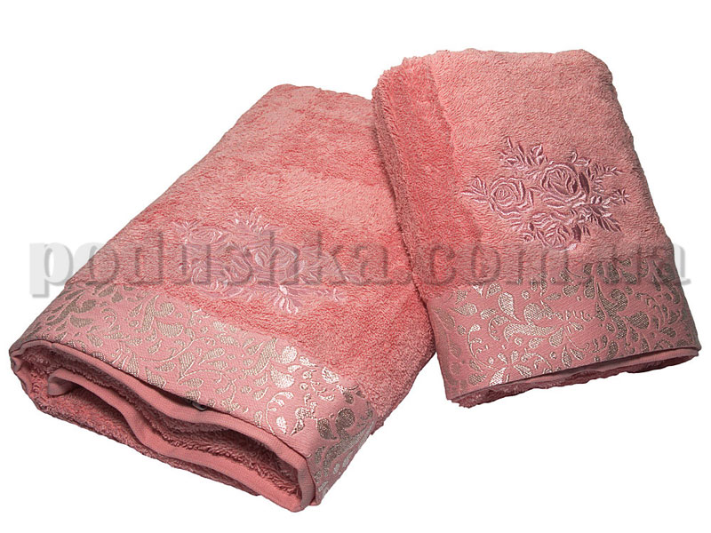 Набор махровых полотенец Pavia ROSE PINK (50х90, 70х140)