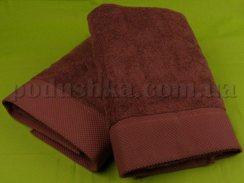 Полотенце Pavia MICROCOTTON темно-коричневое