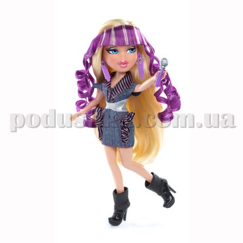 Кукла Bratz серии Рок-звезды - Хлоя с игрушечным микрофоном