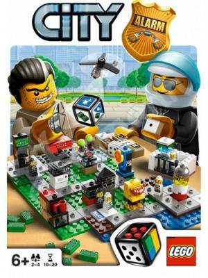 Настольная игра Переполох в Лего Городе