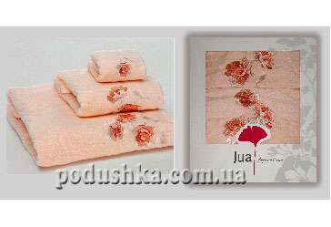 Набор полотенец MICRO COTTON SALMON (3шт), Jua
