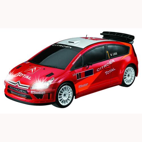 Автомобиль радиоуправляемый - Citroen C4 красный