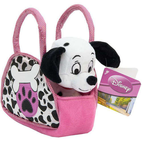 Мягкая игрушка Песик в сумке