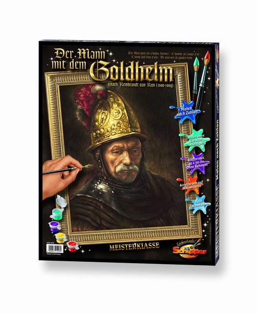 Художественный творческий набор Мужчина в золотом шлеме