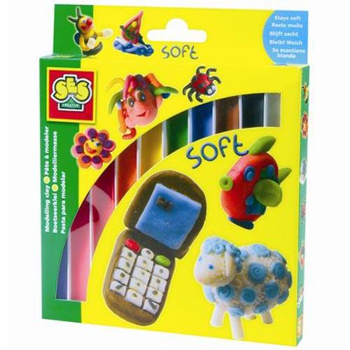 Пластилин - Малыш 10 цветов, упаковка - картонная коробка