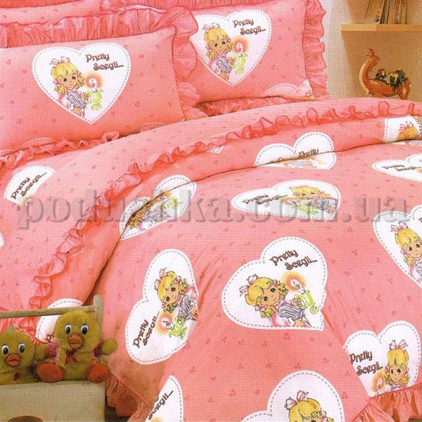 Постельное белье в детскую кроватку Love you CR 113