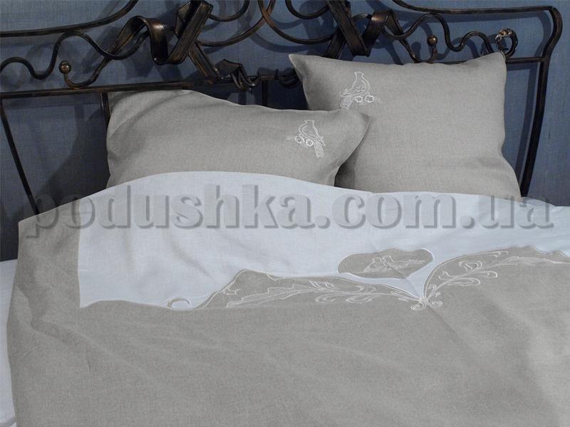 Комплекты постельного белья из льна Ты и Я