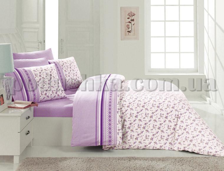 Постельное белье Romeo soft Gardens лиловый
