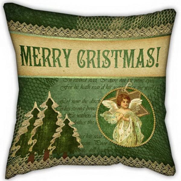 Подушка Merry Cristmas-1