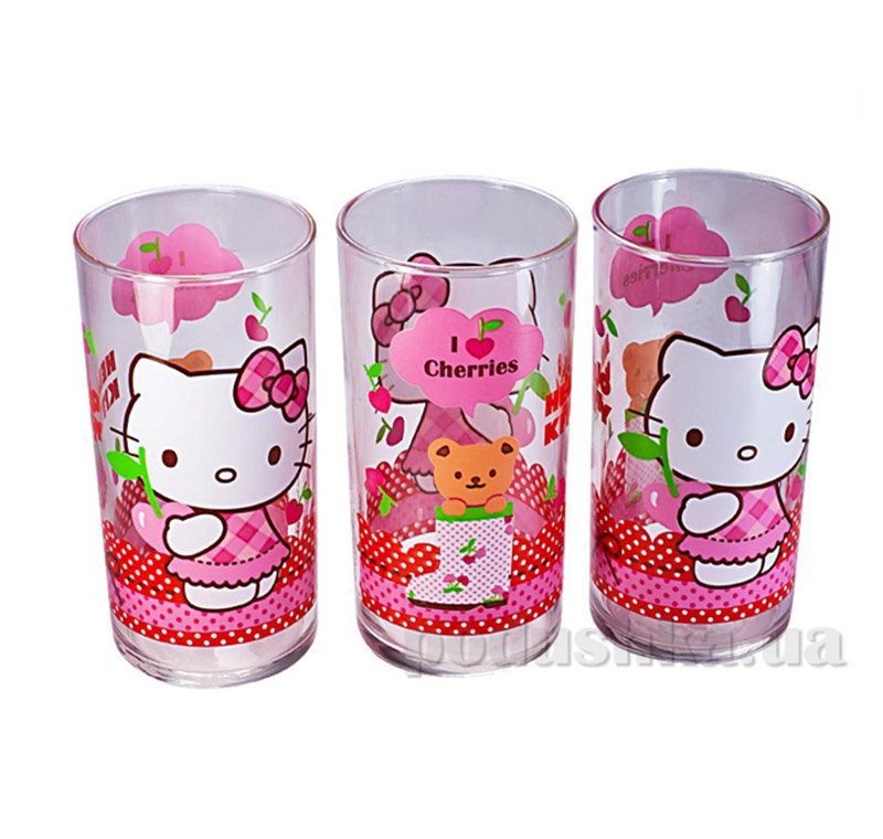 Набор стаканов Luminarc Hello Kitty Cherries J0029   Luminarc