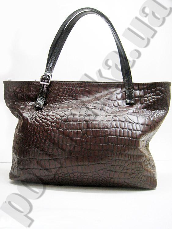 Сумка из натуральной кожи Artis Bags 769 коричневая