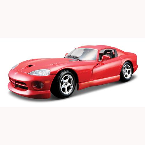 Автомодель - Dodge Viper GTS Coupe (ассорти синий, красный 1:24)