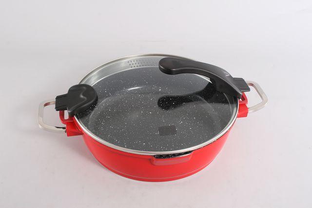 Сотейник CHIC RED COLOR, 4,9 л