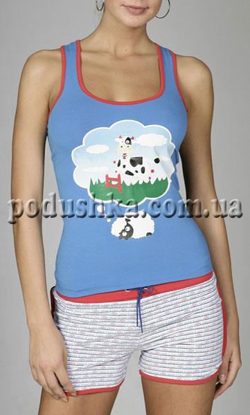 Пижама (майка+шорты) 70-008