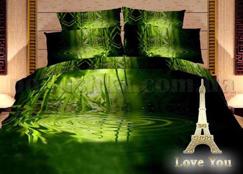 Постельное белье Love You Новый бамбук