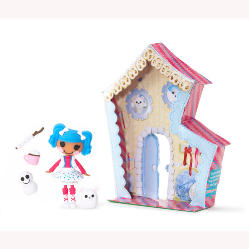 Кукла Minilalaloopsy с аксессуарами - Снежинка