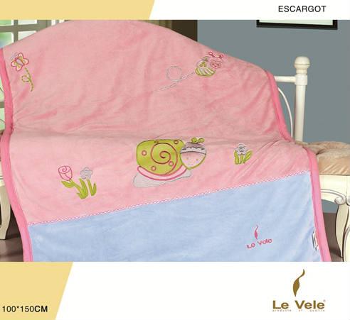 Плед детский Le Vele Escargot