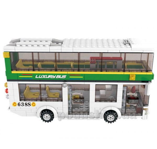 Конструктор Sluban M38-B 0331 Двухэтажный автобус   Sluban