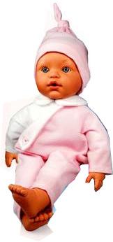 Кукла Loko Toys, плачет, 45 см, розового цвета, 60110-A