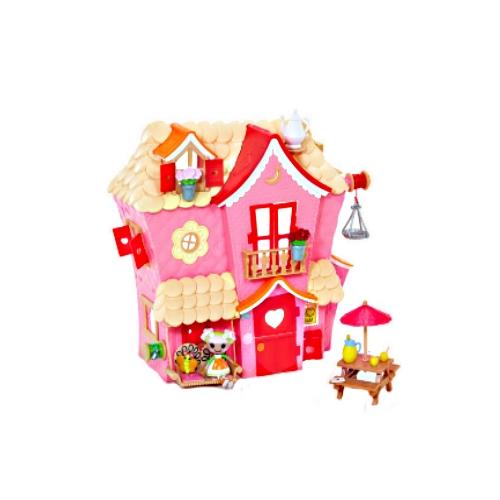 Домик Minilalaloopsy - Цветочный Коттедж (кукла,  аксессуары)