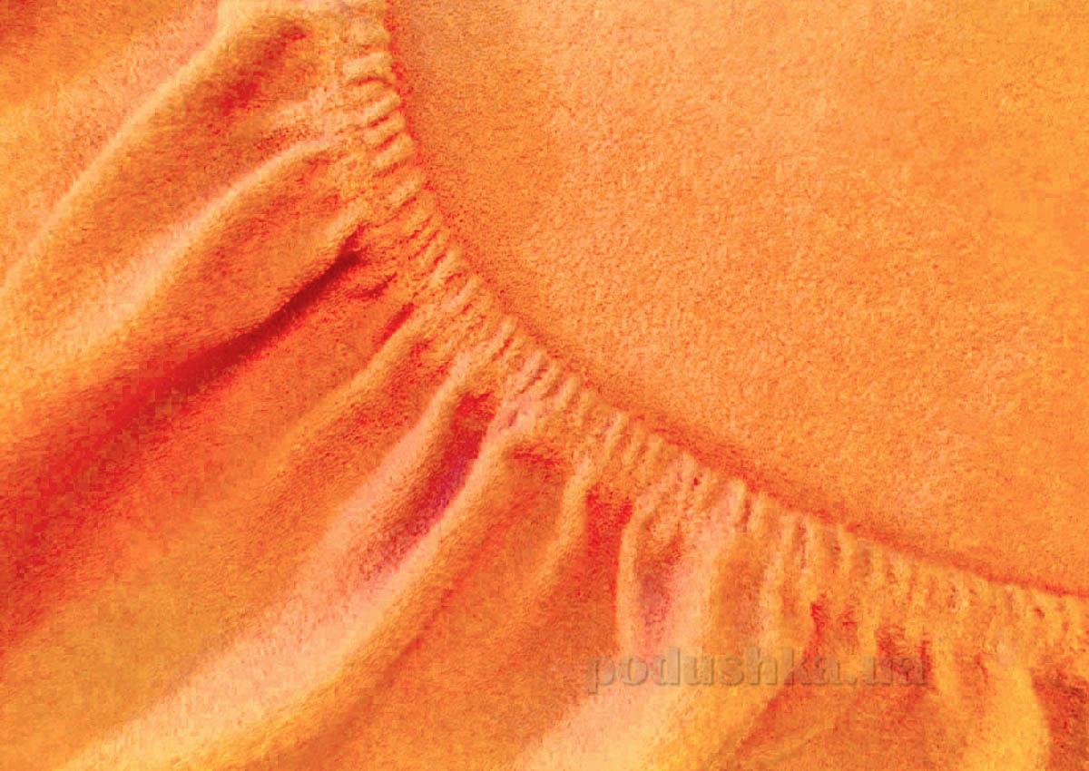 Простынь махровая Arya TR1002125 оранжевая 200х220 см  ARYA