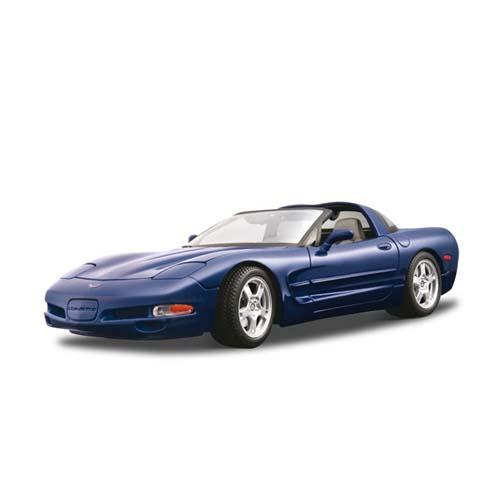 Авто-конструктор - Chevrolet Corvette (1997) (синий, 1:18)