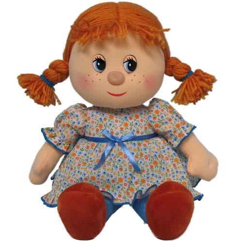Мягкая игрушка - Кукла Маруся музыкальная, 26,5 см
