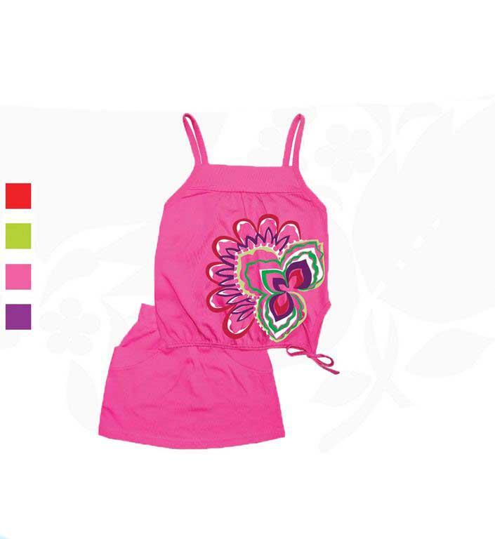 Комплект для девочек Фламинго 767