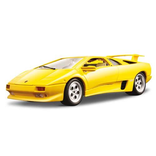 Авто-конструктор - LAMBORGHINI DIABLO (1990), желтый