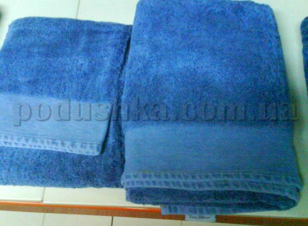 Набор махровых полотенец Mariposa Джинс синий