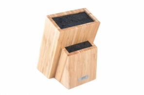 Подставка для хранения ножей 19х12х27 см (бамбук,пластик) 6996А