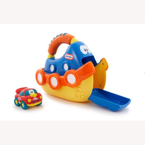 Игрушка на колесах серии Веселый транспорт - Кораблик