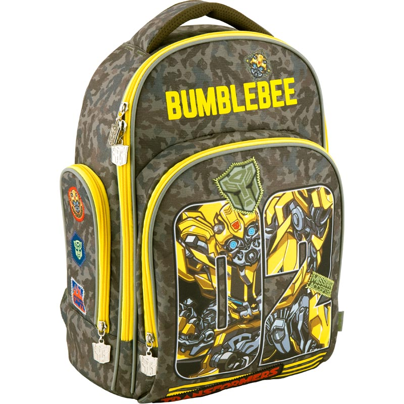 Рюкзак школьный Kite Transformers TF18-706M хаки