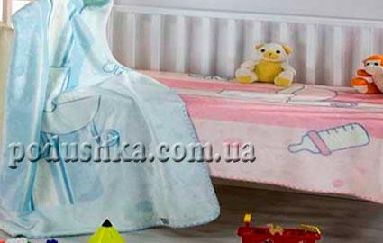 Плед детский BabyComfort-301, MORA