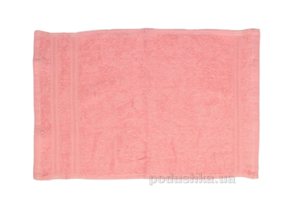 Махровое полотенце Home line Индия розовое 30х30 см  Home line