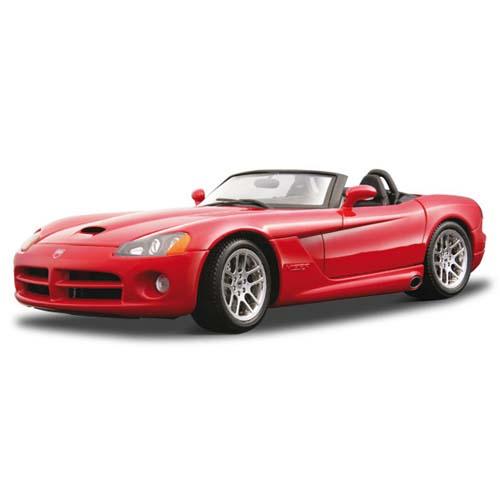 Автомодель - Dodge Viper SRT-10 (красный, 1:18)